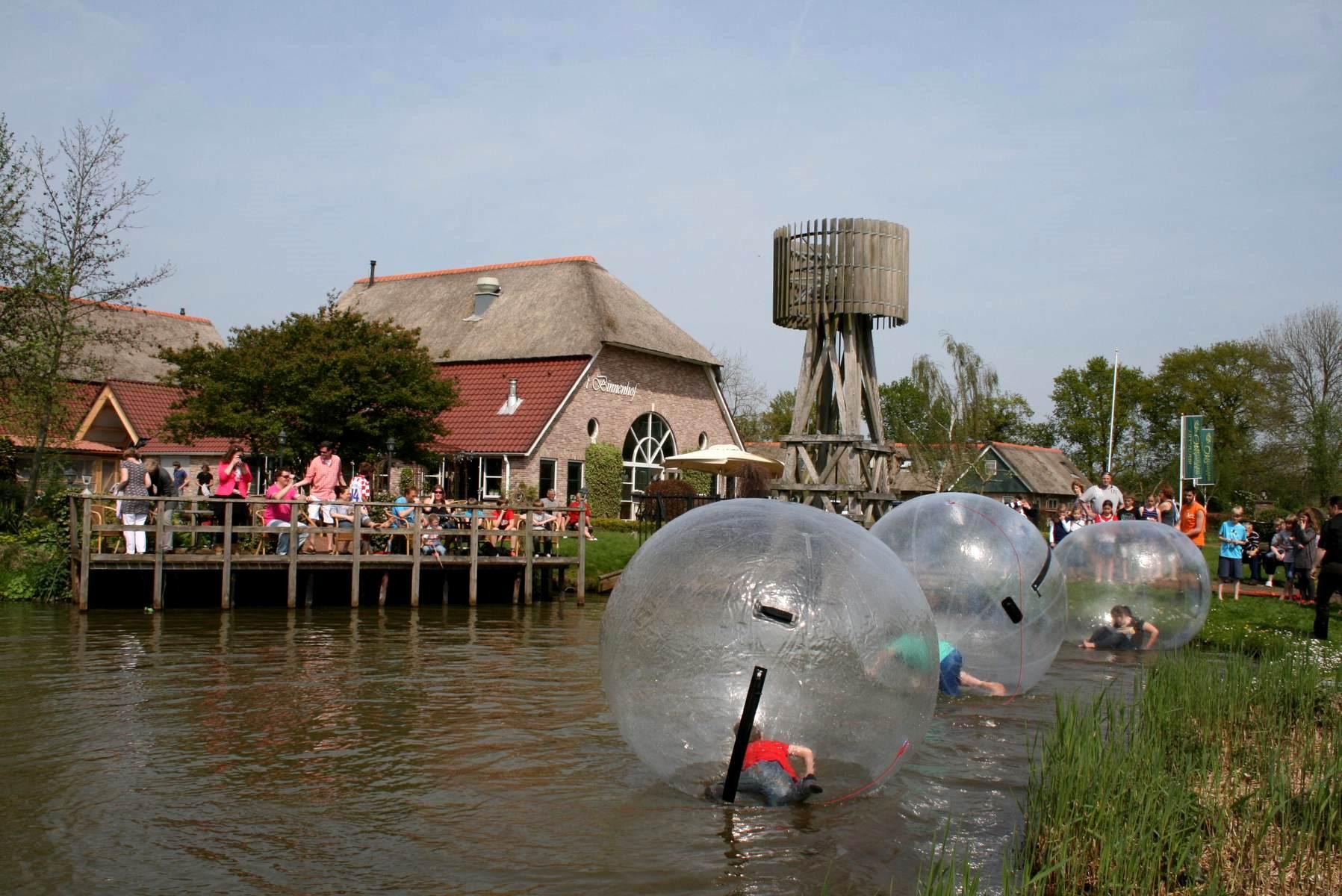Aquabubble Overijssel Restaurant Binnenhof Paasloo (Steenwijk)