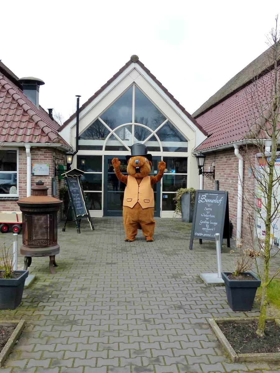 Berend De Bever In kindvriendelijk Restaurant Binnenhof Paasloo Overijssel