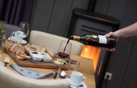 High Wine Restaurant 't Binnenhof in Paasloo Overijssel (bij Steenwijk)