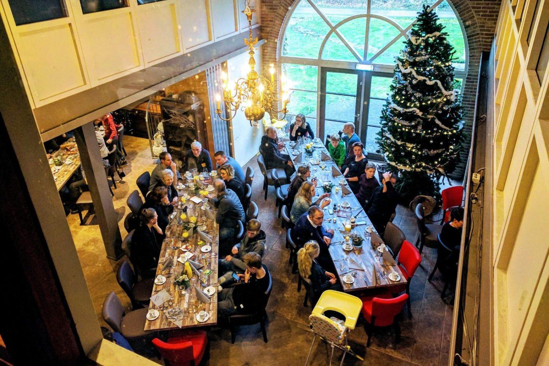 Kersbrunch bij Restaurant 't Binnenhof Paasloo (Steenwijk) Overijssel