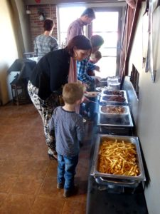 Buffet Restaurant Binnenhof Paasloo bij Steenwijk - ook kinder buffet