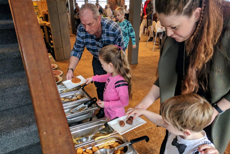 Kindvriendelijk Brunch restaurant Restaurant 't Binnenhof Paasloo (Steenwijk) Overijssel