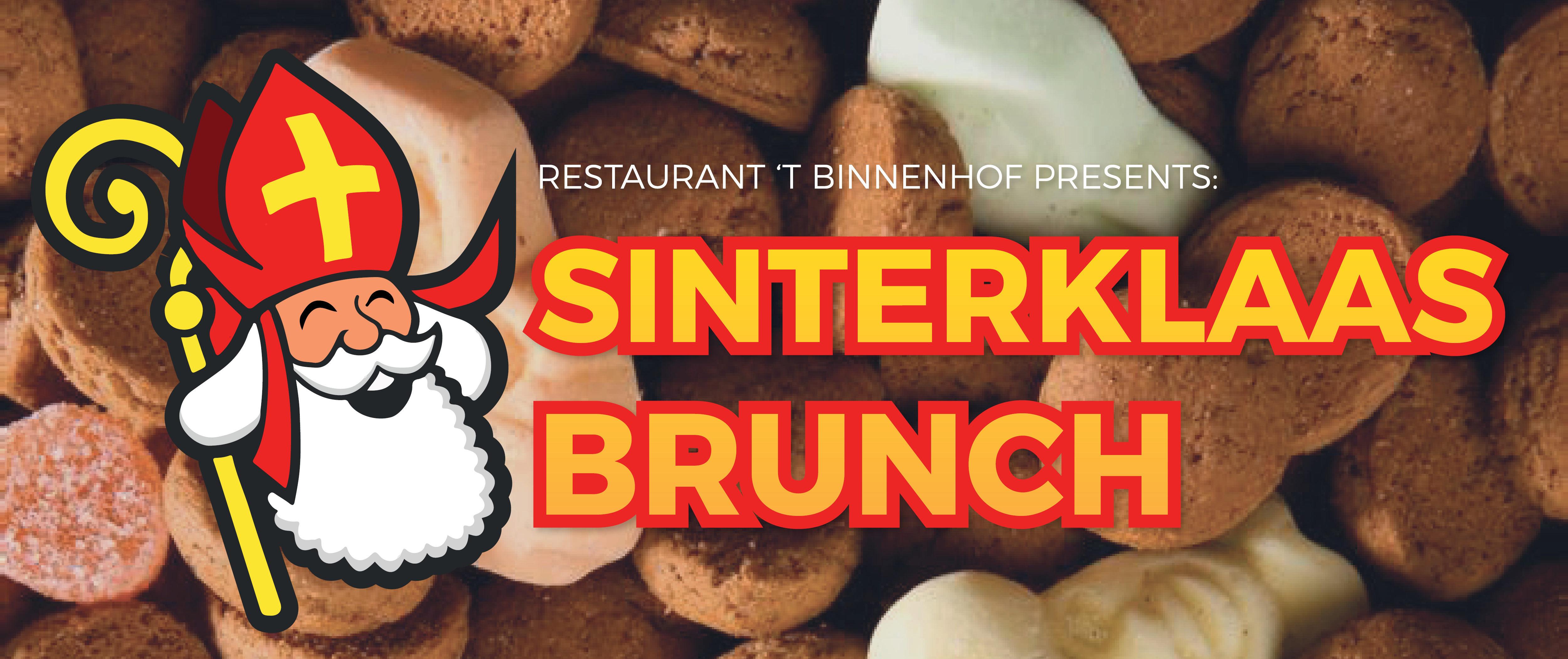 Sinterklaasbrunch bij Restaurant 't Binnenhof in Paasloo Overijssel (bij Steenwijk)