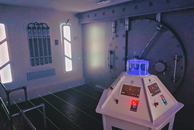 Escape room: Prison Break Paasloo Overijssel Diamond Controlroom