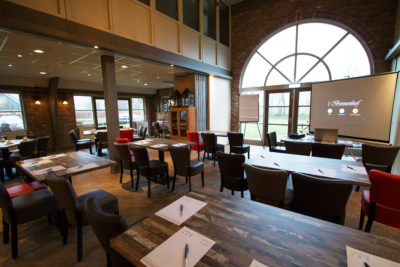 Vergadzaal bij Restaurant 't Binnenhof in Paasloo Overijssel (bij Steenwijk)