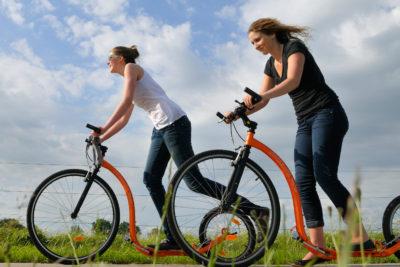 Kickbike huren in Nationaal Park Weerribben Wieden Overijssel