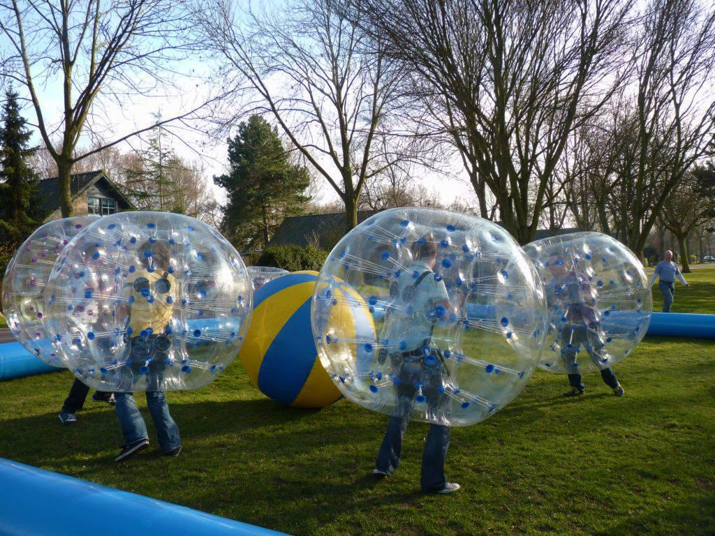 Bubble Voetbal bij Restaurant 't Binnenhof in Paasloo Overijssel (bij Steenwijk)