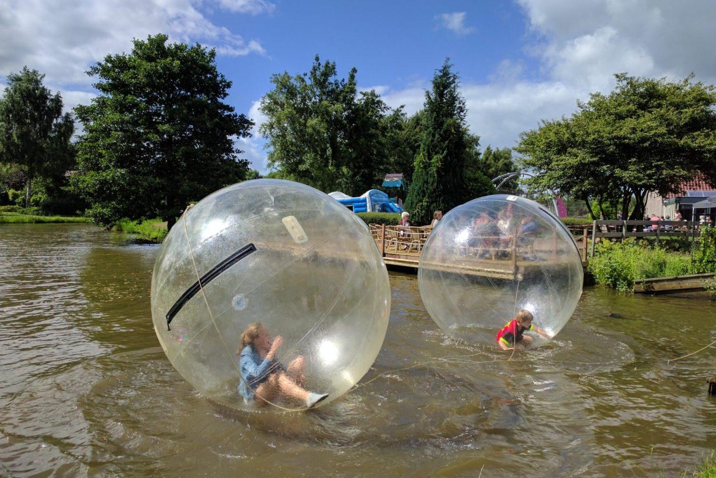 Aquabubble bij Restaurant 't Binnenhof in Paasloo Overijssel (bij Steenwijk)