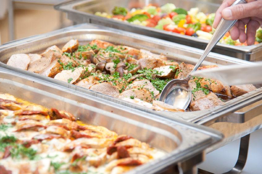 Buffet bij Restaurant 't Binnenhof Paasloo (Steenwijk) Overijssel