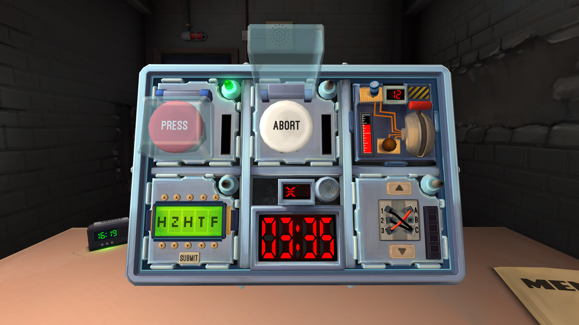 The Bomb Groepsspel Escape Room Paasloo