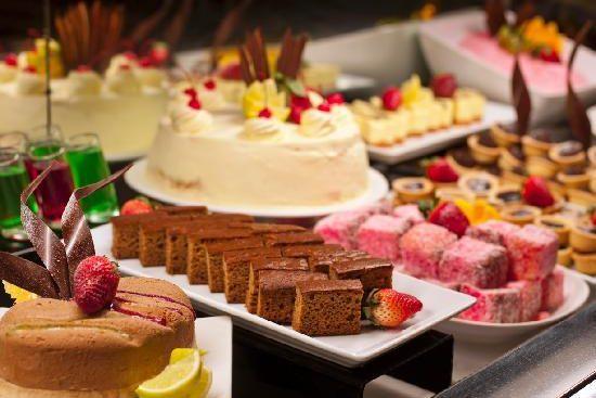 Dessert Buffet bij Restaurant 't Binnenhof Paasloo (Steenwijk) Overijssel