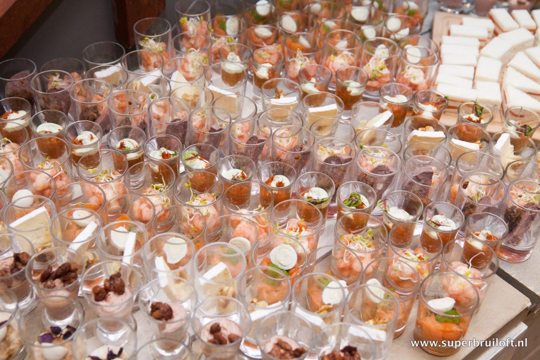 Hapjesbuffet bij Restaurant 't Binnenhof Paasloo (Steenwijk) Overijssel